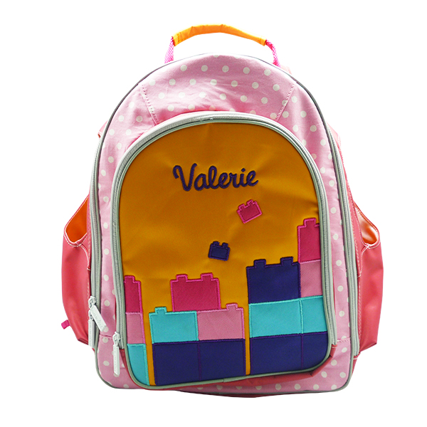 Large Backpack Charlene Lego Pink 1