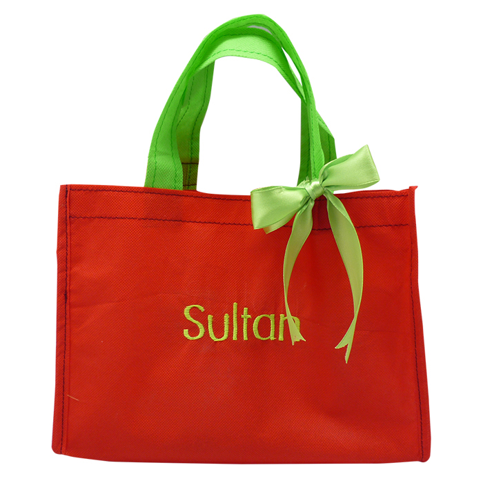 Christmas Eco Tote Name