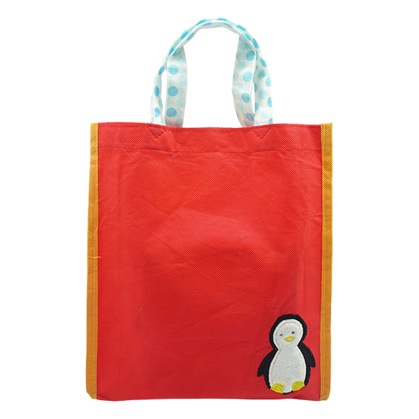 Christmas Eco Tote Penguin
