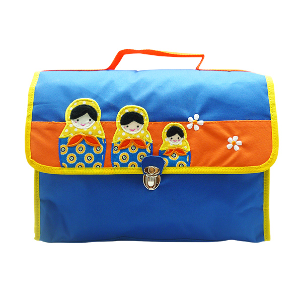 School Bag Oliver Matryoshka Blue