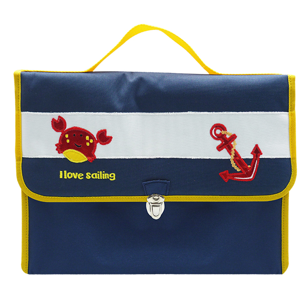 School Bag Oliver Nautical