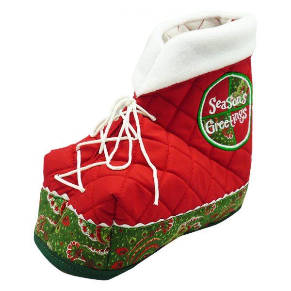 Christmas Tissue Box Cover - Seasons Greeting 2