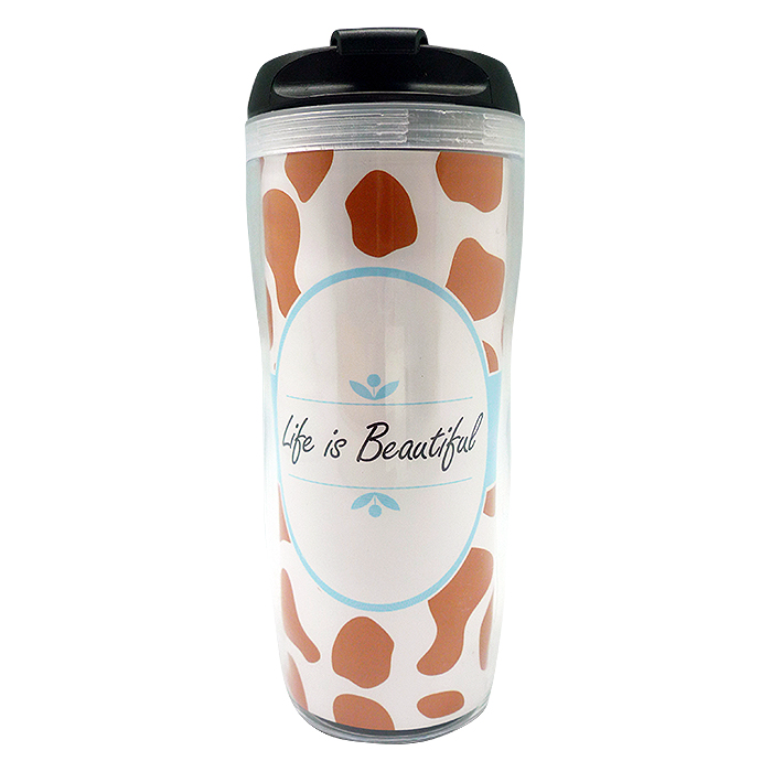 Tumbler Bottle Cheetah