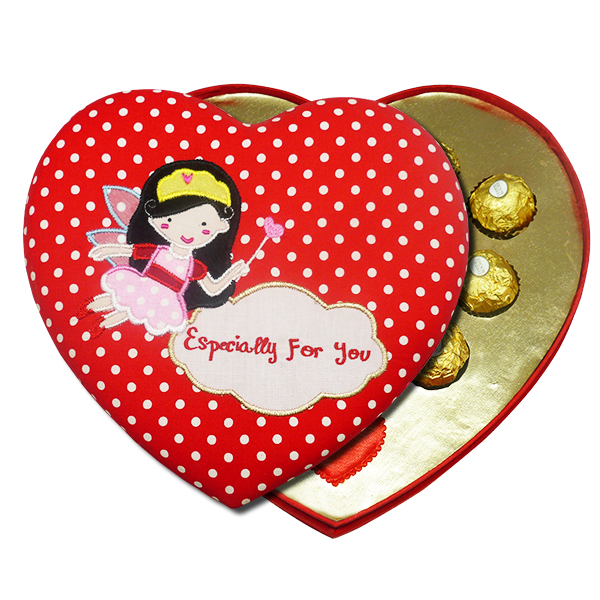 Valentine Heart Chocolate Box
