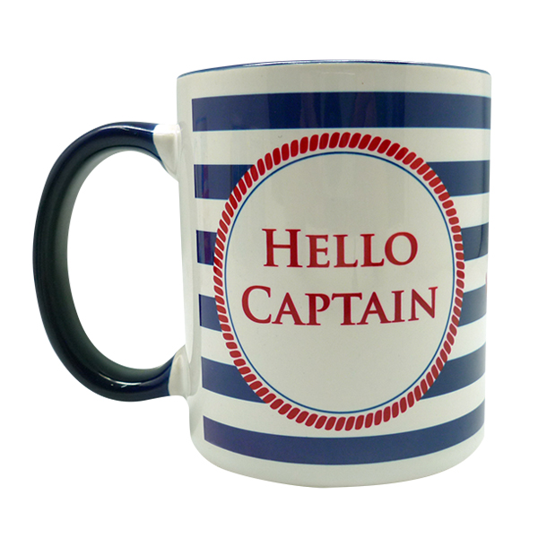 Coffee Mug Nautical Custom
