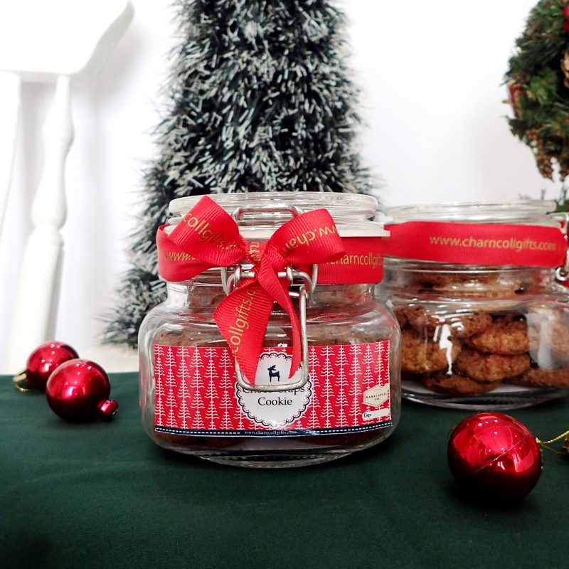 Christmas Cookies Jar