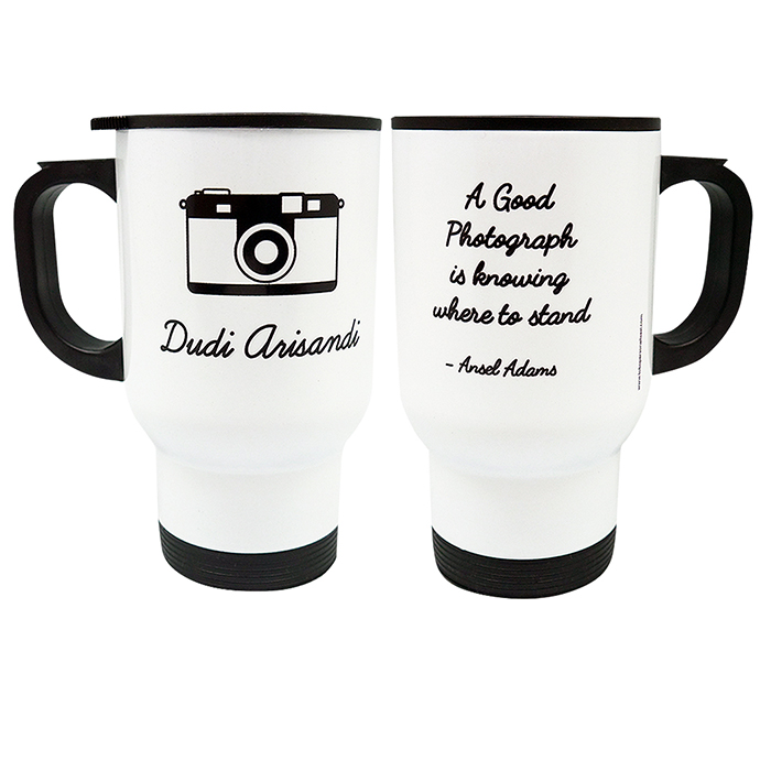 Travel Mug Camera Custom