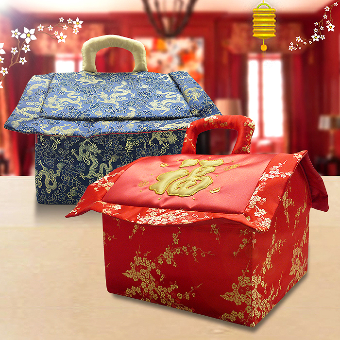 Chinese New Year Cake House Bag Large