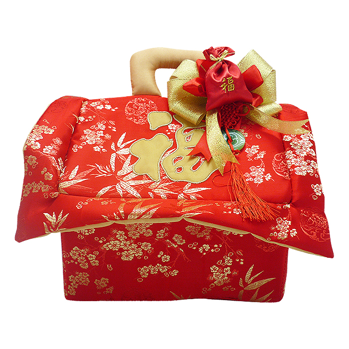 Chinese New Year Cake House Bag Small