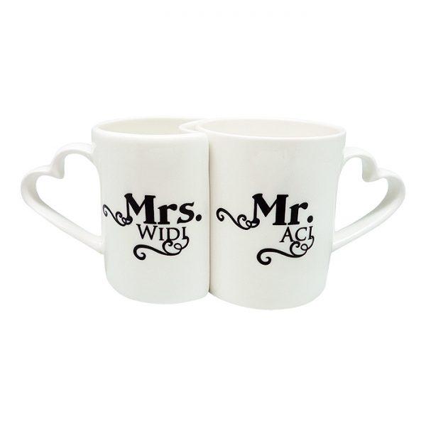 Mug Couple Mr & Mrs 1