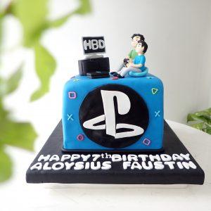 PS4 Birthday Cake