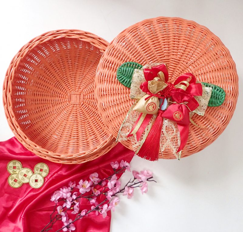 Chinese New Year Harvest Orange Rattan