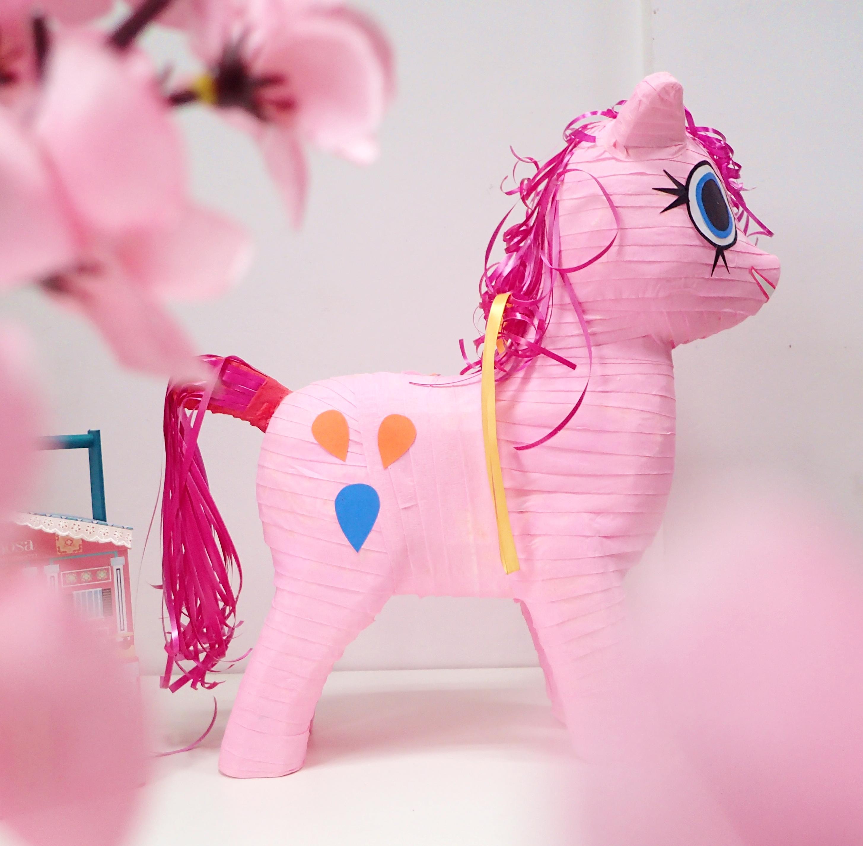 Jual Pinata Kuda Poni Pink Perlengkapan Pesta Anak - Char