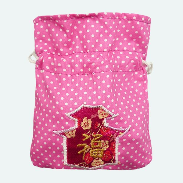 String Pouch Polkadot Chinese New Year 3