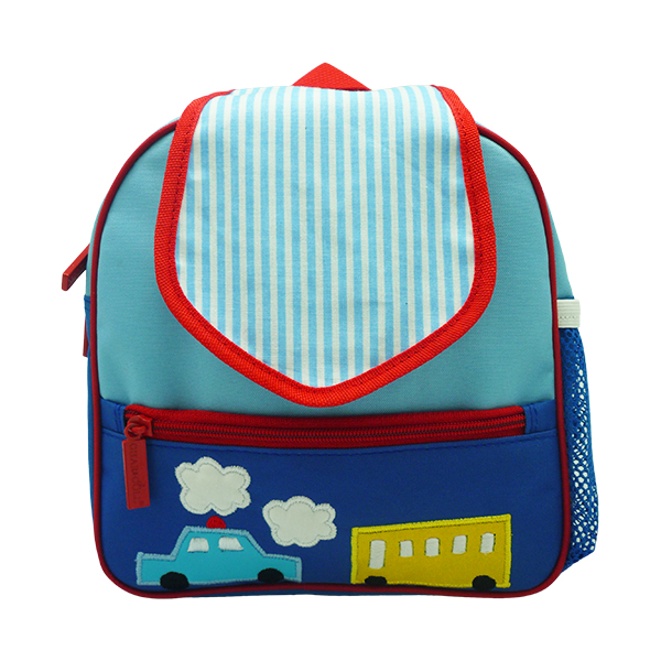 Tiny Totes Backpack Transportation Blue