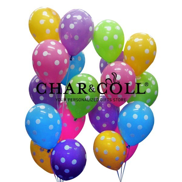 Party Balloons Polkadot