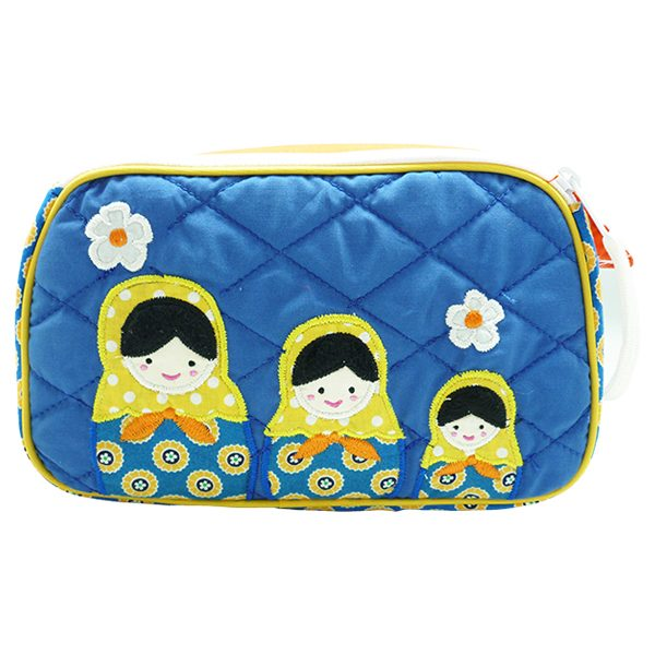 Tas Toiletries Nathan Boneka Matryoshka