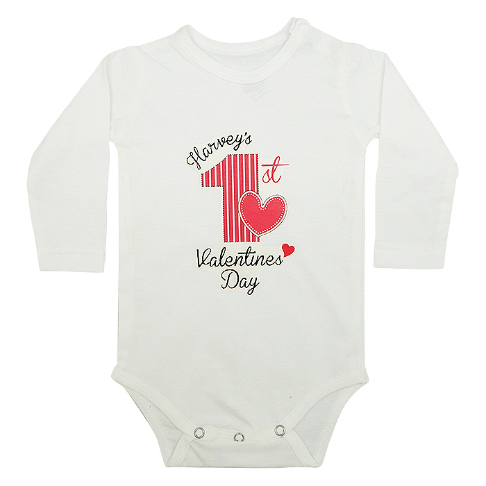 Baby T-Shirt First Valentine