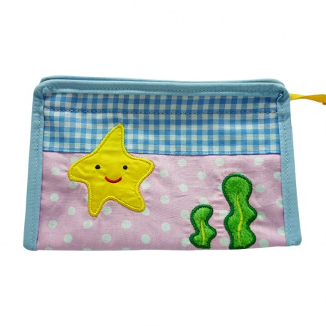 Toiletries Bag Triangle Starfish