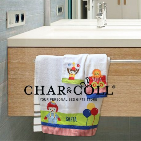 Towel Set Circus