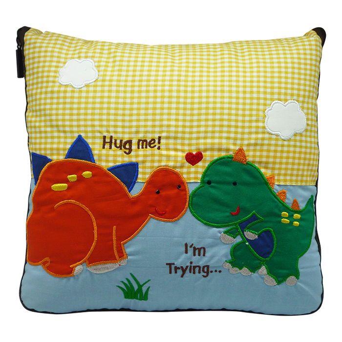 2 In 1 Pillow Blanket Dinosaur