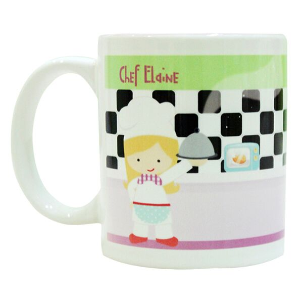 Coffee Mug Chef Girl