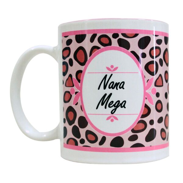 Coffee Mug Leopard Pattern