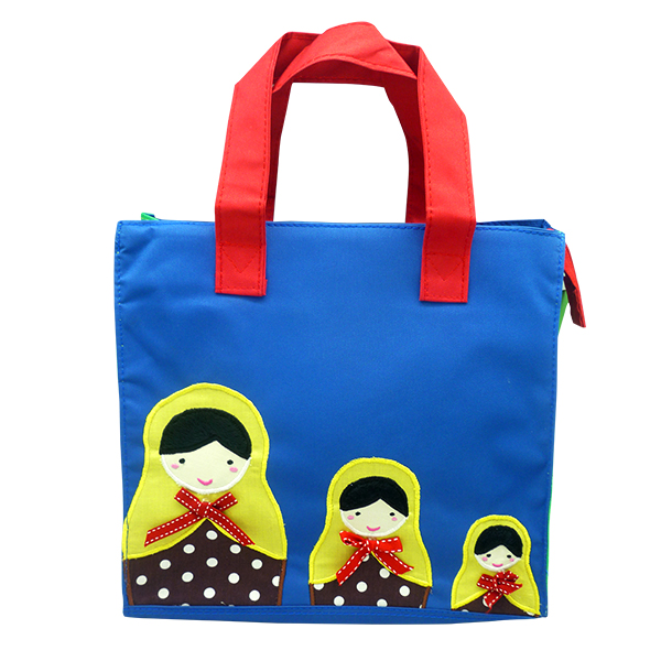 Kennedy Tote Bag – Mathryoshka Blue