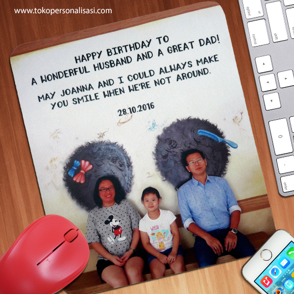 Mouse Pad Custom Family Photo