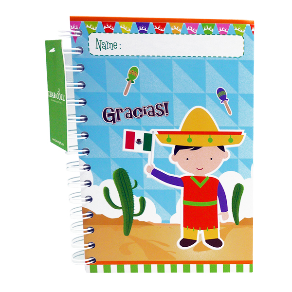 Notebook Mexican Boy