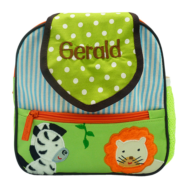 Tiny Totes Backpack Zebra Lion