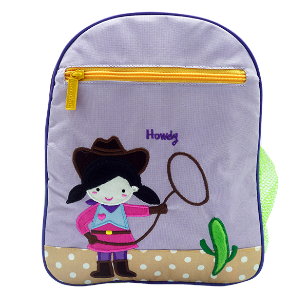 Toddler Small Backpack Cow Girl