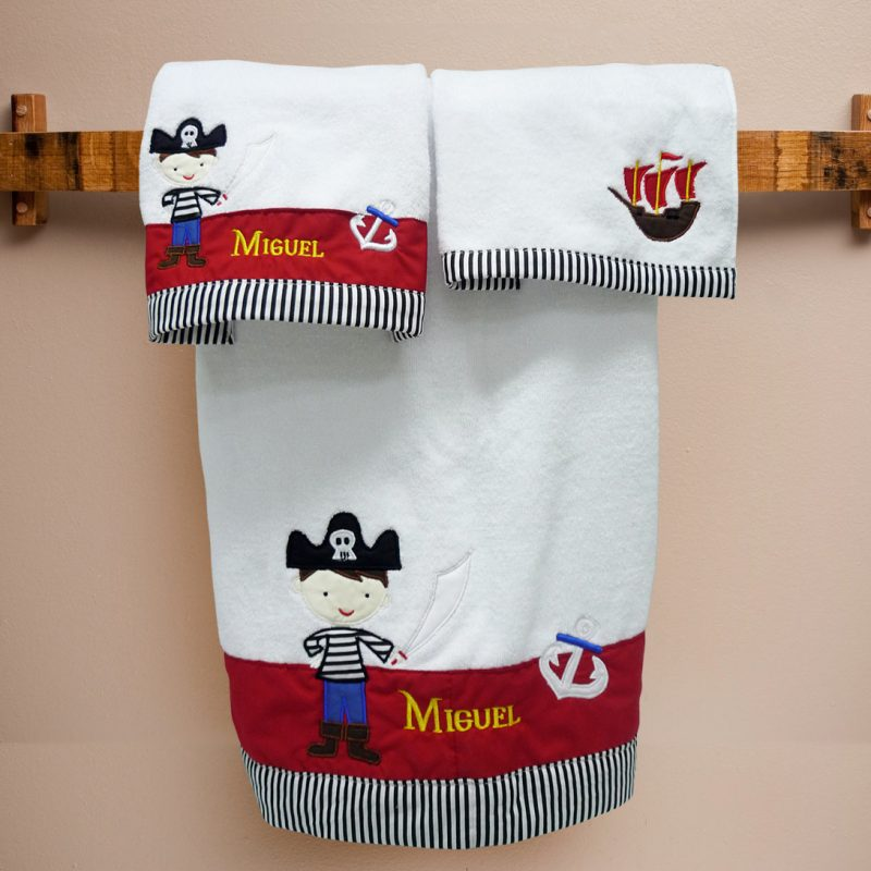 Towel Set Captain Kidd
