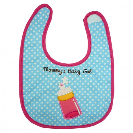 Baby Bib Amelia's Milk Bottle