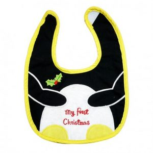 Baby Bib First Christmas