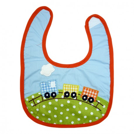 Baby Bib Choo Choo Train
