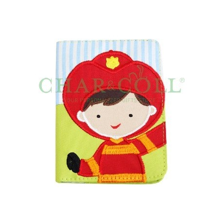 Passport Cover Fireman