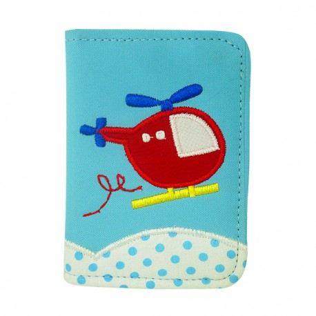 Passport Cover Helicopter