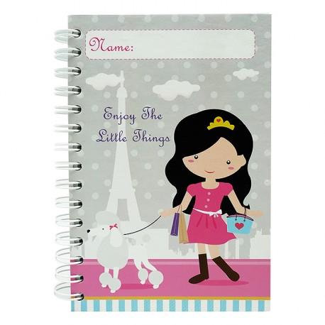 Notebook Bonjour Amelia
