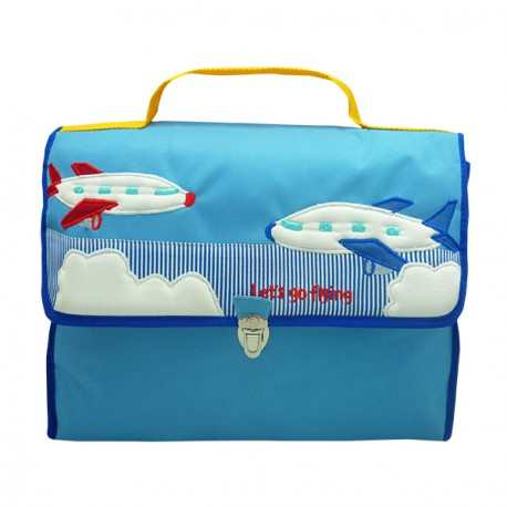 School Bag Oliver Airplane