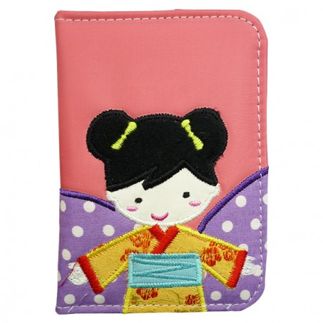 Passport Cover Japanese Girl