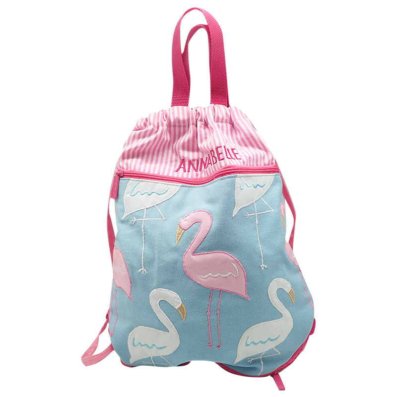Swimming Bag Pink Flamingo