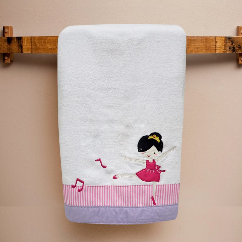 Bath Towel Ballerina