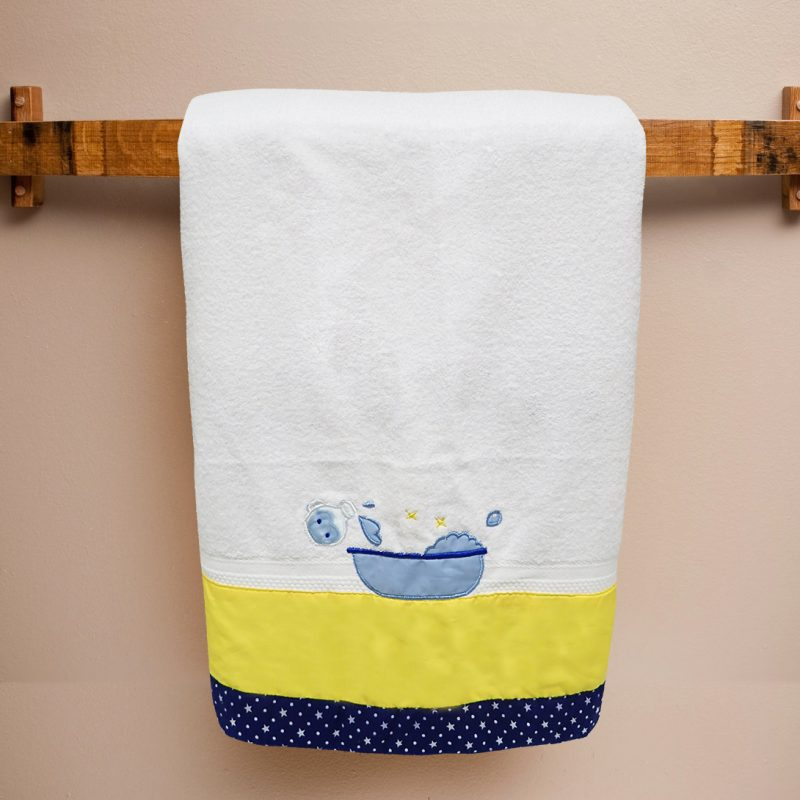 Bath Towel Magic Blue