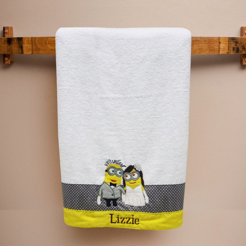 Couple Bath Towel – Minion
