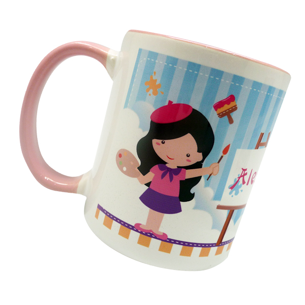 Coffee Mug – Painter Girl