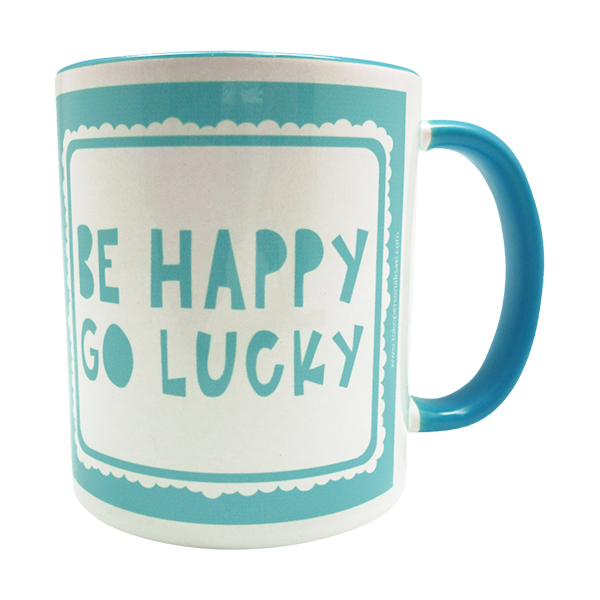 Coffee Mug – Be Happy Go Lucky
