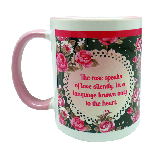 Coffee Mug – Pink Rose
