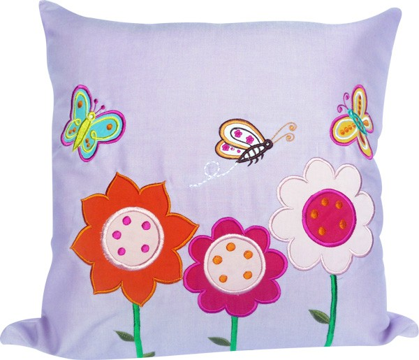 Cushion Flower Purple