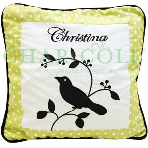 Cushion Silhouette Bird